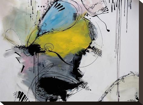Motus 7.2-Annie Rodrigue-Stretched Canvas Print
