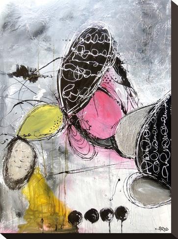 Motus 1-Annie Rodrigue-Stretched Canvas Print