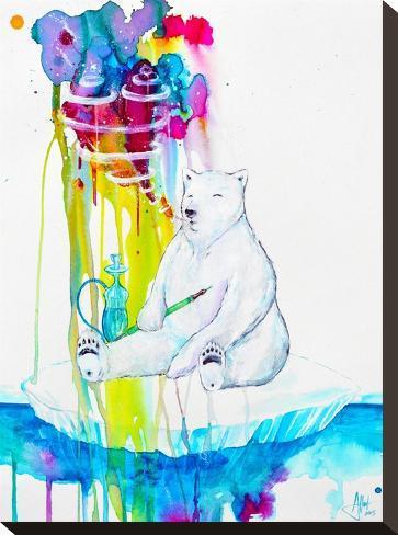 Mint (HD Print FINAL)-Marc Allante-Stretched Canvas Print