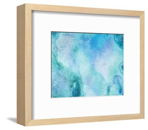 Aquamarine II--Framed Art Print