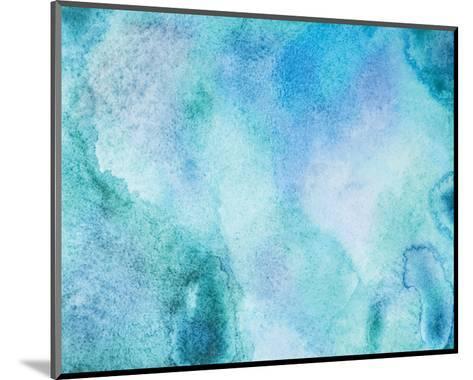 Aquamarine II--Mounted Art Print