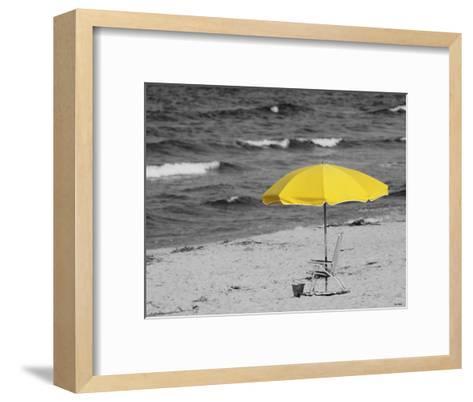 Sunny Umbrella-Eve Turek-Framed Art Print