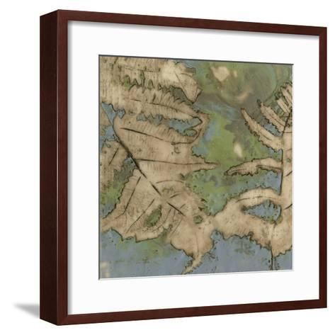 Fern Lake II-Jennifer Goldberger-Framed Art Print