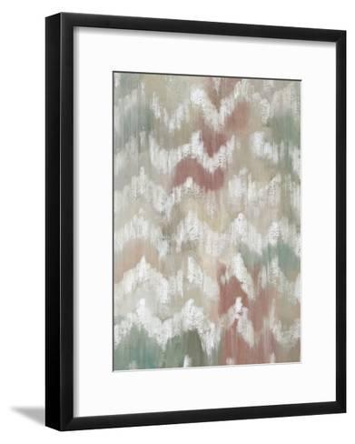 Gardenia Ikat I-Chariklia Zarris-Framed Art Print