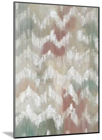 Gardenia Ikat I-Chariklia Zarris-Mounted Premium Giclee Print