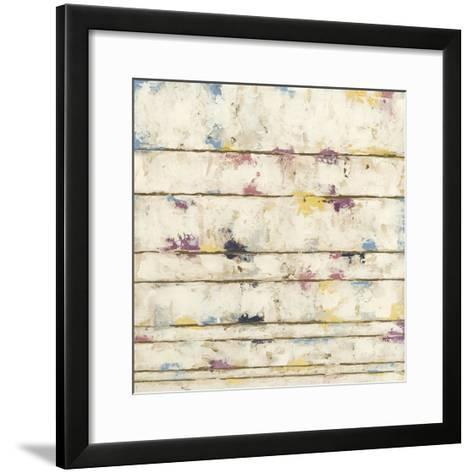 Lined Abstract II-Megan Meagher-Framed Art Print