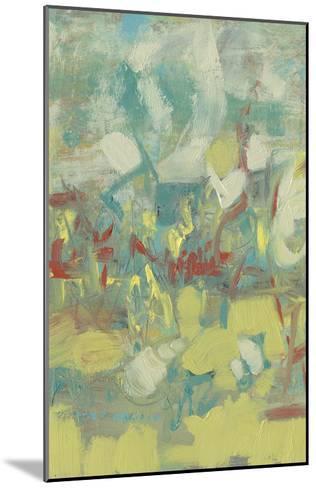 Graffiti Abstract I-Jennifer Goldberger-Mounted Premium Giclee Print