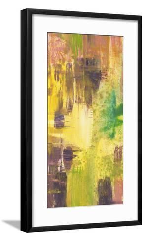 Wet on Wet I-Jennifer Goldberger-Framed Art Print