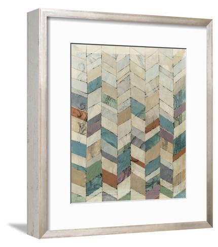 Chevron Overlay II-Megan Meagher-Framed Art Print