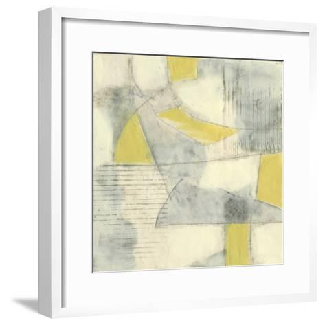 Thin Grey Lines II-Jennifer Goldberger-Framed Art Print