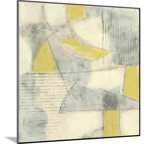 Thin Grey Lines II-Jennifer Goldberger-Mounted Premium Giclee Print