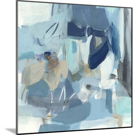 Blue Monday-Christina Long-Mounted Premium Giclee Print