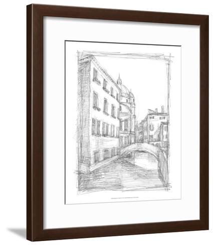 Sketches of Venice IV-Ethan Harper-Framed Art Print