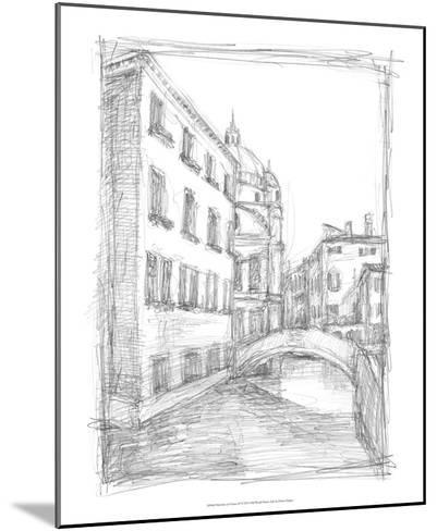 Sketches of Venice IV-Ethan Harper-Mounted Premium Giclee Print