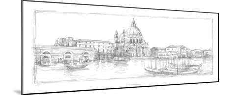 Sketches of Venice V-Ethan Harper-Mounted Premium Giclee Print