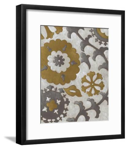 Ochre Suzani I-Chariklia Zarris-Framed Art Print