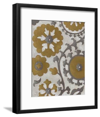 Ochre Suzani II-Chariklia Zarris-Framed Art Print