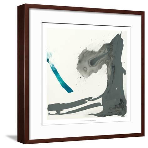 Minimal I-Sisa Jasper-Framed Art Print