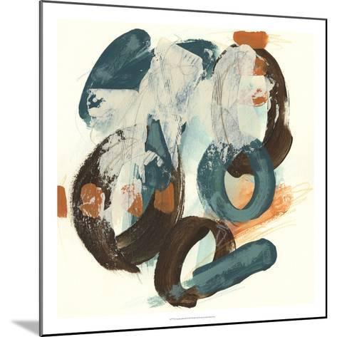 Circular Intent II-June Vess-Mounted Premium Giclee Print