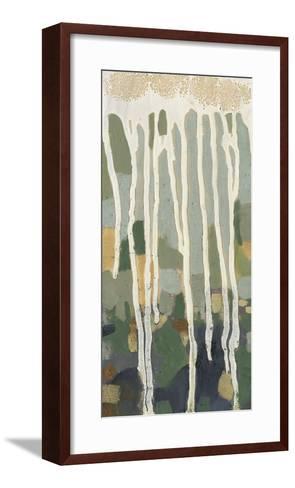 Mosaic Treeline I-Jennifer Goldberger-Framed Art Print
