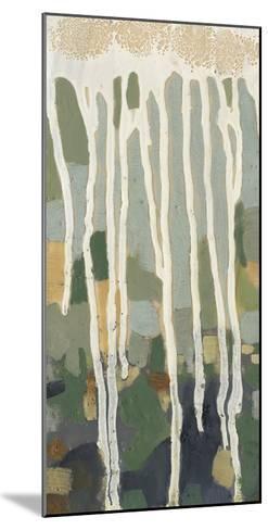 Mosaic Treeline I-Jennifer Goldberger-Mounted Premium Giclee Print