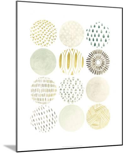 Orbital Patterns II-June Vess-Mounted Premium Giclee Print