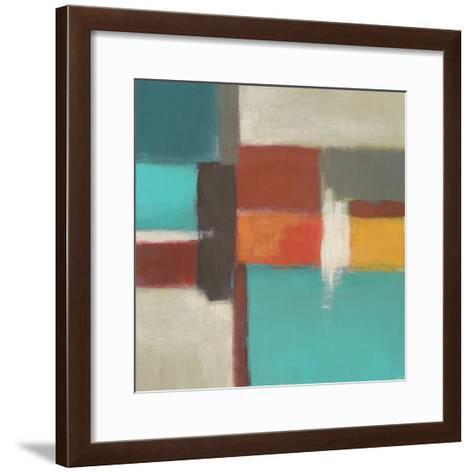 Uptown Lights I-June Vess-Framed Art Print