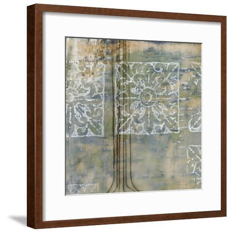 Floating Patterns II-Jennifer Goldberger-Framed Art Print