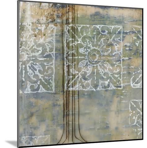 Floating Patterns II-Jennifer Goldberger-Mounted Premium Giclee Print