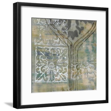 Floating Patterns III-Jennifer Goldberger-Framed Art Print