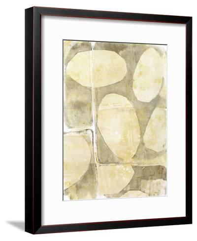 River Rock V-Jennifer Goldberger-Framed Art Print