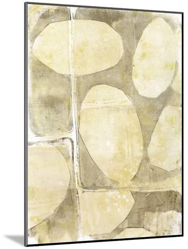 River Rock V-Jennifer Goldberger-Mounted Premium Giclee Print