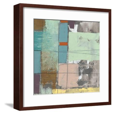 Pastel City II-Jennifer Goldberger-Framed Art Print