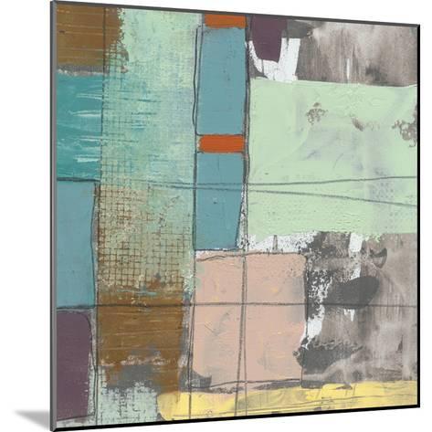 Pastel City II-Jennifer Goldberger-Mounted Premium Giclee Print
