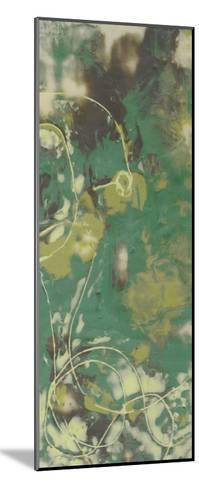 Entwined Emerald IV-Jennifer Goldberger-Mounted Premium Giclee Print