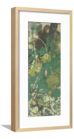 Entwined Emerald IV-Jennifer Goldberger-Framed Art Print