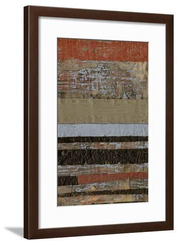 Wax Textures II-Jennifer Goldberger-Framed Art Print
