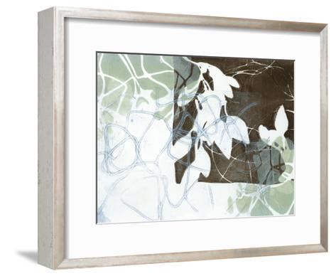 Leaf Inclusion IV-Jennifer Goldberger-Framed Art Print