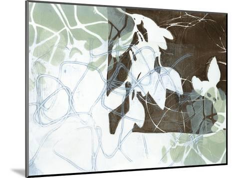 Leaf Inclusion IV-Jennifer Goldberger-Mounted Premium Giclee Print