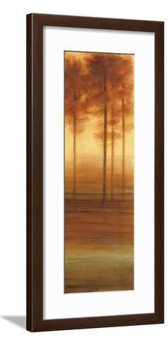Treeline Horizon III-Ethan Harper-Framed Art Print