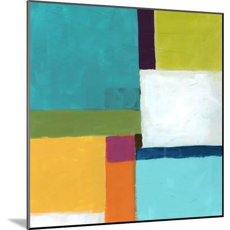 City Square IV-June Vess-Mounted Premium Giclee Print