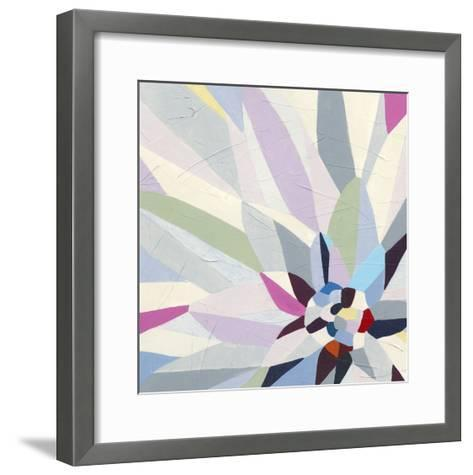 Geometric Dahlia II-June Vess-Framed Art Print