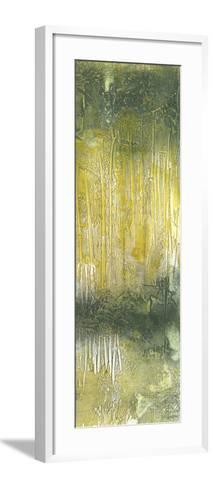 Treeline Abstract II-Jennifer Goldberger-Framed Art Print