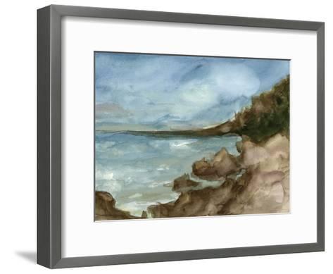 Plein Air Landscape V-Ethan Harper-Framed Art Print