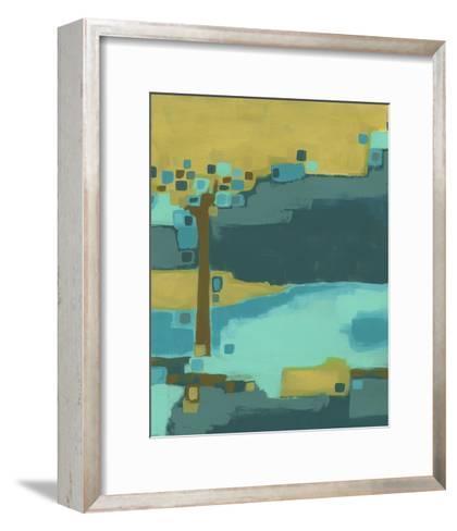 River Bend I-June Vess-Framed Art Print
