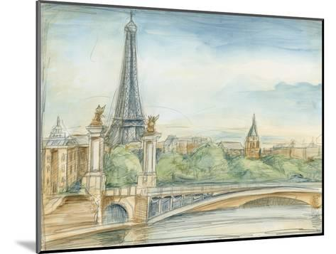 Parisian View-Ethan Harper-Mounted Premium Giclee Print