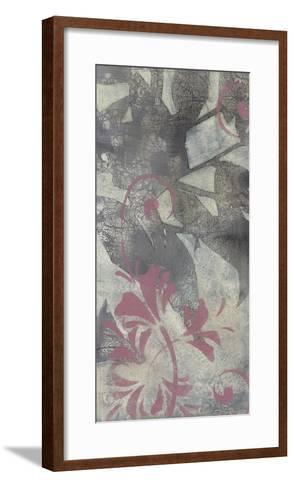 Leaf Dusting I-Jennifer Goldberger-Framed Art Print
