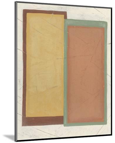 Demitasse IV-June Vess-Mounted Premium Giclee Print