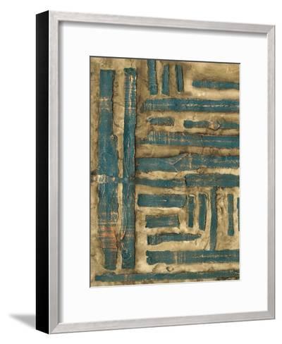 Maze II-Jennifer Goldberger-Framed Art Print