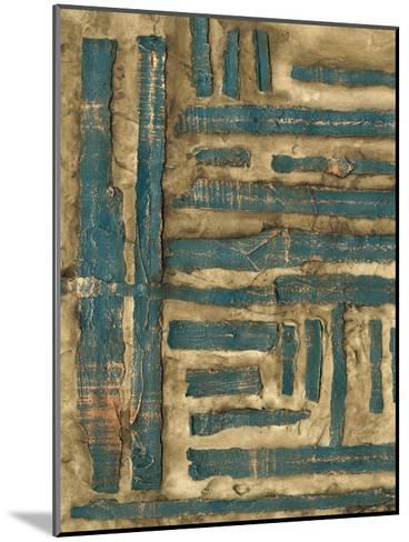 Maze II-Jennifer Goldberger-Mounted Premium Giclee Print